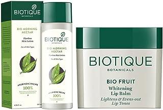 Biotique Set Of Lotion & Lip Balm