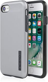 iPhone 7 Case, Incipio DualPro Shine Case [Shock Absorbing] Cover fits Apple iPhone 7 - Space Gray/Charcoal