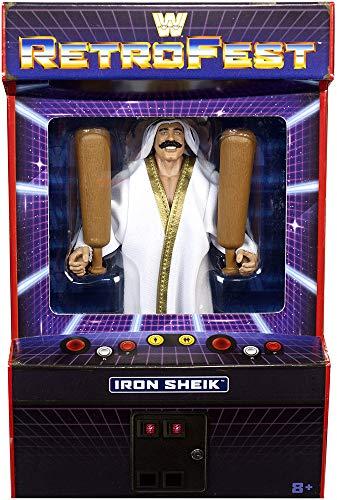 RetroFest WWE Elite Exclusive Iron Sheik Wrestling Action Figure Limited Edition