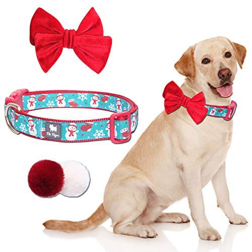 Pet Rejoir Christmas Dog Collar