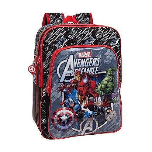 Zaino Scuola The Avengers Age of Ultron Modello Americano Altezza 42 cm