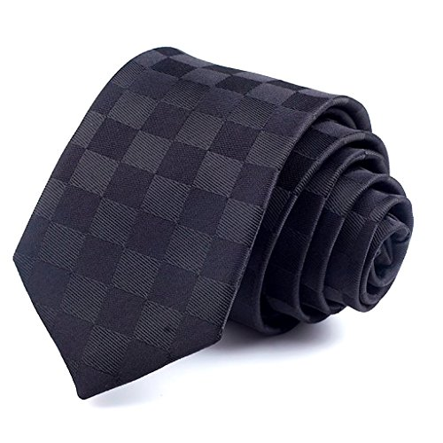 Kustom Factory - Corbata para hombre, color negro