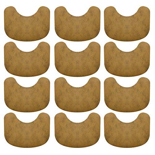 iBaste 12PCS/Box Wärmepflaster,Schmerzlinderung Wärmepflaster Für Nacken Und Schulter,Schultergips Hals Chinesisches Wermut Kräuterpflaster