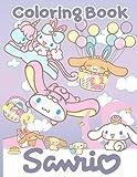 Sanrio Coloring Book: Creative Coloring Books For Adults Sanrio! (Activity Book Series)