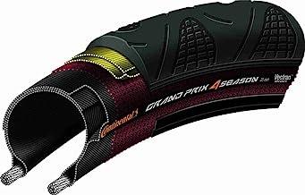 Continental Grand Prix 4 Season Road Bike Tire - Vectran Puncture Protection, DuraSkin Sidewall Protection, All Season Rep...
