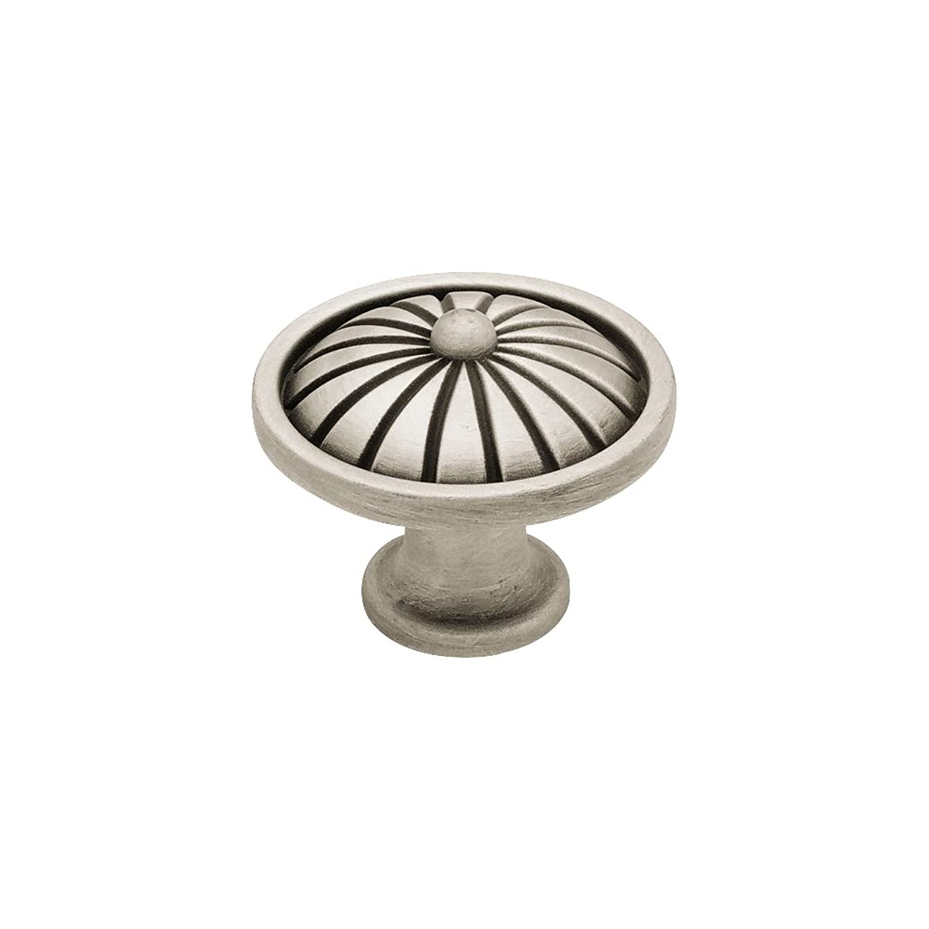 Liberty PN1291-BSP-C 38mm French Tassel Kitchen Cabinet Hardware Knob, Brushed Satin Pewter
