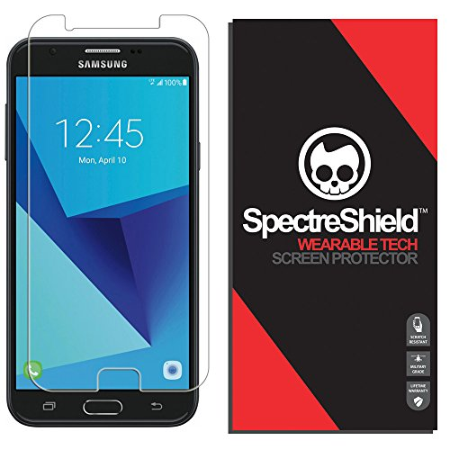 Spectre Shield Screen Protector for Samsung Galaxy J7 Sky Pro (SkyPro) Case Friendly Galaxy J7 SkyPro Screen Protector Accessory TPU Clear Film