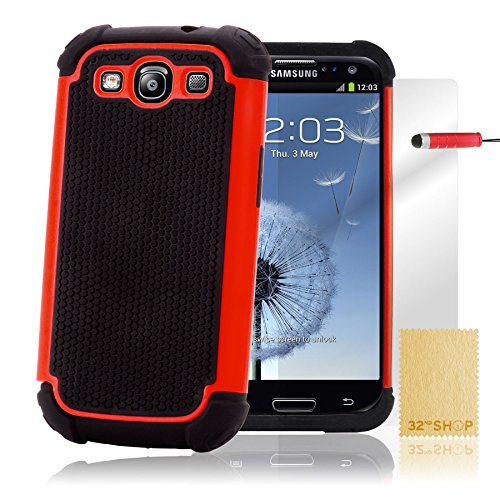 32nd ShockProof Series - Dual-Layer Shock and Kids Proof Case Cover for...