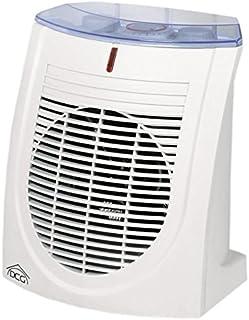 DCG Eltronic HL9370 - Calefactor (Calentador de ventilador, 24 h, Pared, Piso, Blanco, 2000 W, 1000 W)