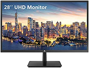 Z-Edge 28-inch Gaming Monitor Ultra HD 4K 3840x2160 TN LED Monitor, 300 cd/m², 1 ms Response Time, HDMIx2+DPx2, Built-in Speakers, FreeSync Technology