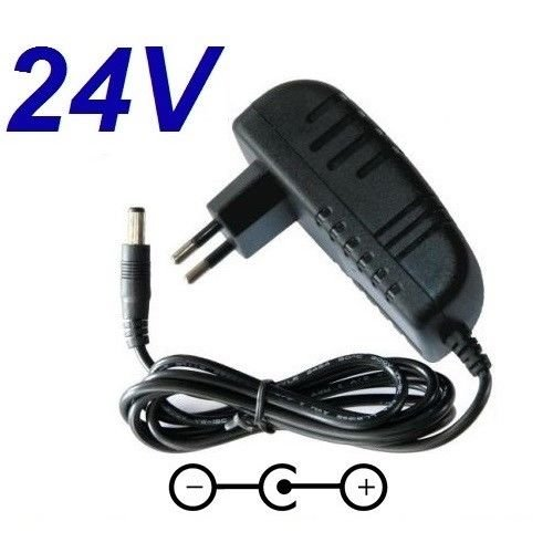 CARGADOR ESP ® Cargador Corriente 24V Reemplazo Aspirador Aspiradora Robot VILEDA Cleaning Robot C8 Recambio Replacement