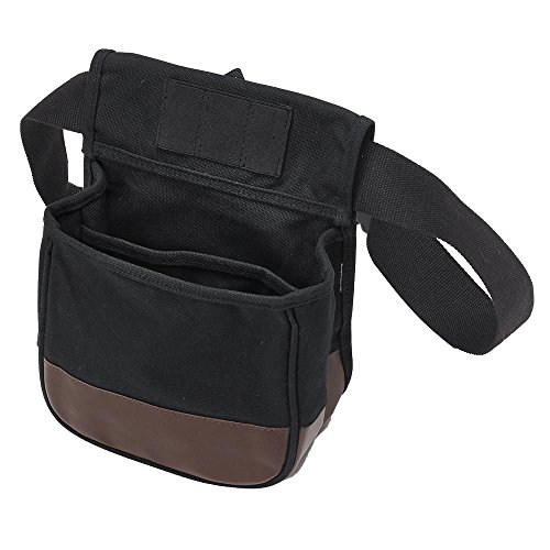 US PeaceKeeper Products P23010 Divided Shell Pouch, Black/Brown, One Size