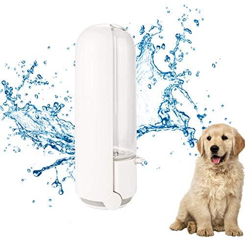 HIQE-FL Hunde Trinkflasche,Hundetrinkflasche für Unterwegs,Tragbare Haustier Trinkflasche,Tragbare Trinkflasche Hunde,Tragbare Hunde Wasserflasche,Hunde Katzen Flasche,Ideal für Wandern und Reisen