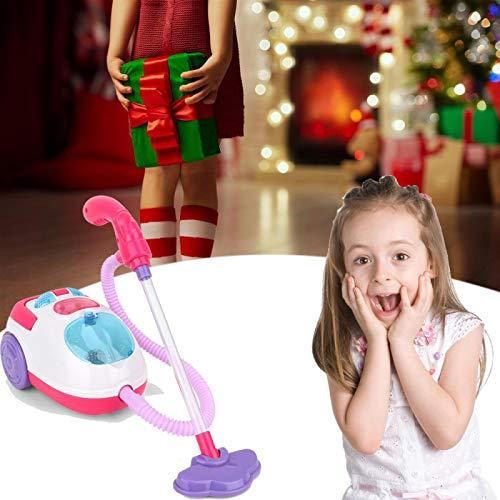 Juguete de la aspiradora, Aspiradora de juguete, Aspiradora de juguete para niños, Mini juguete limpio al vacío, Con juguete educativo de limpieza de succión real, Apto para niños de 2 a 8 años StyleB