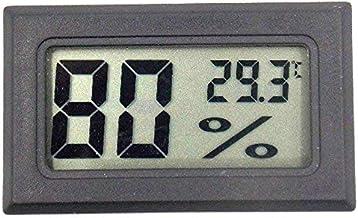 Andifany Fy-11 Digital LCD Termómetro DIY Medio Ambiente Higrómetro Medidor De Humedad Y Temperatura Integrado En La Habitación