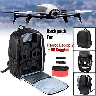 Dovlen Storage Bag Backpack Zipper Portable Outdoor Travel Compatible Parrot Bebop 2 RC Drone FPV