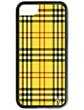 Wildflower Limited Edition Cases for iPhone 6, 7, or 8 (Yellow Tartan)