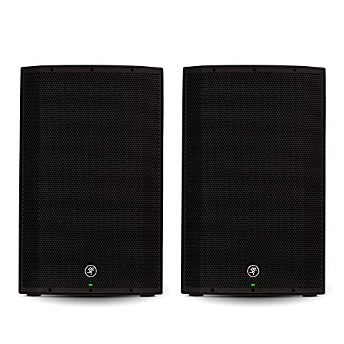powerful Mackie Thump15 15-inch dual amp DJ speaker for powered pair live music