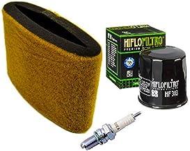 Tune Up Kit Air Filter Oil Filter Spark Plug ATV for Kawasaki Prairie 300 KVF300