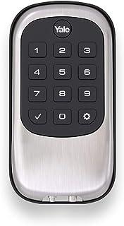 Yale Security YRD110-NR-619 Keyless Push Button Stand Alone Deadbolt, Satin Nickel