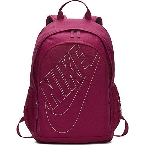 Nike Sportswear Hayward Futura Backpack for Men, Large Backpack with Durable Polyester Shell and Padded Shoulder Straps, True Berry/True Berry/Frosted