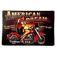 梦のバイク好きの素敵なプレゼントにサインしたバイクピンガール!