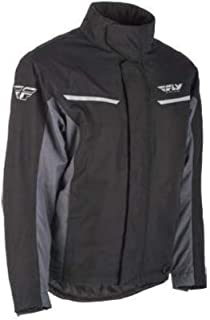 Fly Racing Aurora Jkt Blk/Gry Md
