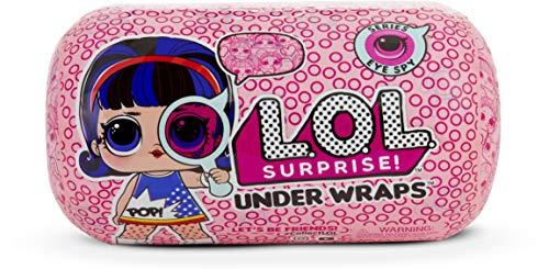 L.O.L. Surprise! - Under Wraps Serie Espia Muñeca con Disfraz, 15 Sorpresas, Multicolor, Modelo surtido (MGA Entertainment 552055E7C)