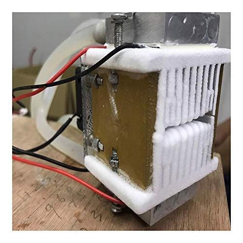 GeGe 1pcs DIY 120W Tec Peltier Semiconductor Frigorífico refrigeración por Agua Aire Acondicionado Movimiento for refrigeración y Ventilador (Color : Photo Color)
