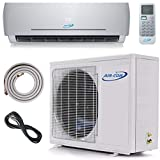 24000 BTU Ductless Air Conditioner – Mini Split AC/Heating System - 2 Ton Pre-Charged Inverter Heat Pump –...