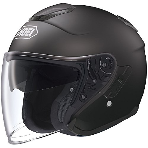 Shoei Solid J-Cruise Touring Motorcycle Helmet - Matte Black/X-Large
