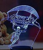 Stratégie de tir 3D jeu de survie personnage Sniper Overwatch OW arme pistolet fusil mitraillette pistolet veilleuse noël enfants cadeau lampe de table décor à la maison
