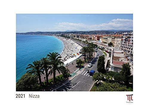 Nizza 2021 - White Edition - Timokrates Kalender, Wandkalender, Bildkalender - DIN A3 (42 x 30 cm)