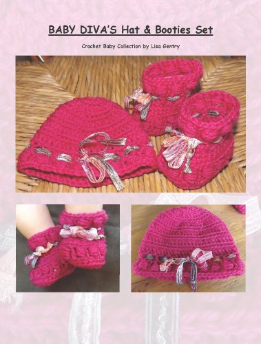 Baby Hat & Booties Set - Crochet Pattern (So Babies) (English Edition)