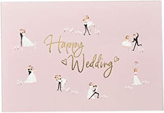 25 Pack Painted Invitations Cards with Envelopes for Wedding Bridal Showers Engagement