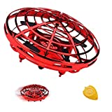 TURNMEON Hand Operated Mini Drone RC Drone Toys for 8-14 Year Old Boys Girls, 2 Speed Auto-Avoid Obstacles 360°Rotating Helicopter Flying Ball Toys for Kids Outdoor Indoor Game