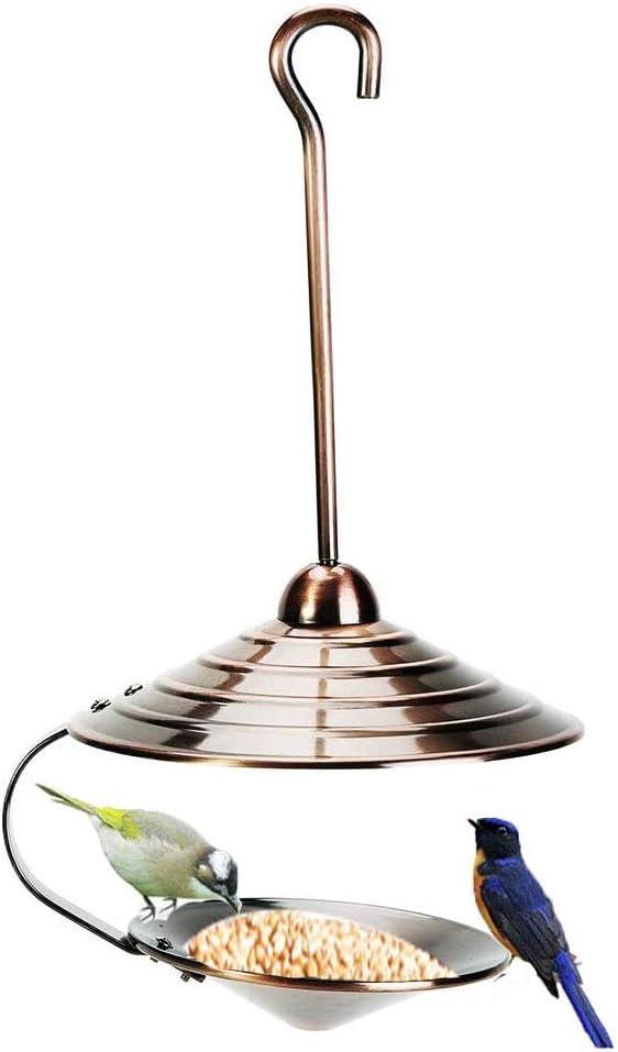 Metal Copper Kansas City Mall Bird Feeder Hook Hanging Rainproof Direct store with