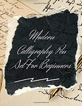 Modern Calligraphy Pen Set For Beginners  Hand To Type Scripts Hand-lettering And Calligraphy - Old English Calligraphy Books for Beginners Lined .. Practice Modern Calligraphy Practice Books