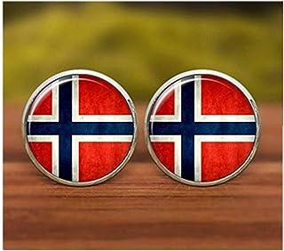 We are Forever family Gemelos de bandera noruega, gemelos de Noruega, gemelos de bandera, símbolo nacional