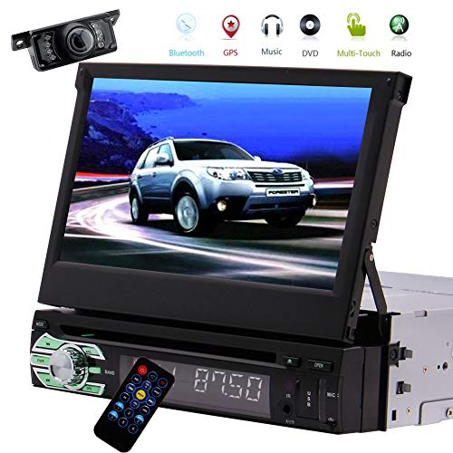 Single Din Car Stereo GPS Naviga...