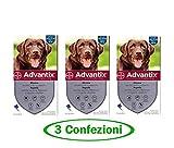 advantix Spot-ON per Cani Oltre 25 kg Fino a 40 kg - Offerta 3 Confezioni...