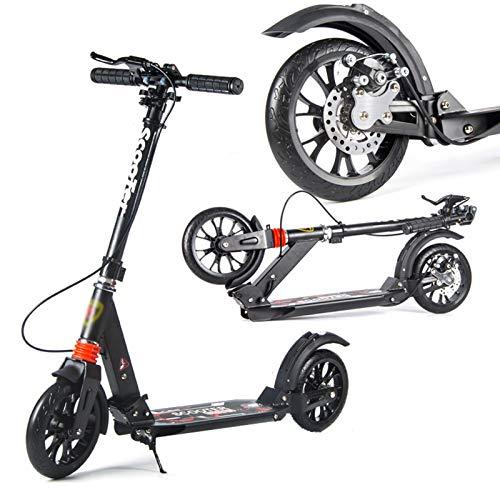 Hou Hexin Trade Scooter Stunt Scooters para niños y niñas Scooter de Estilo Libre para Principiantes y Adultos (Color : Negro)