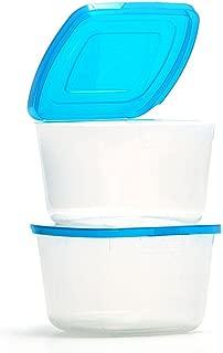 Mr Lid Premium Food Storage Container, 4 Cup -2 Count