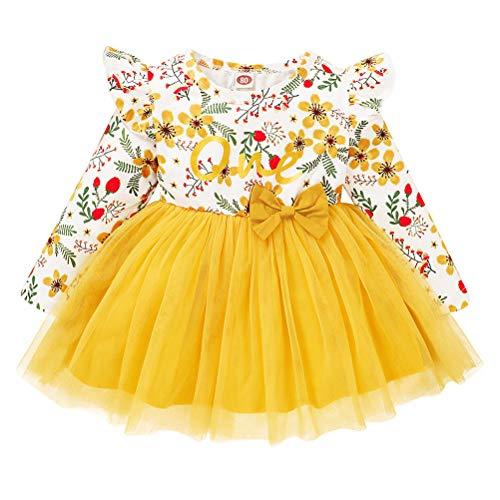 ABOOFAN items da festa vestido infantil tutu menina saia de tule menina uma peça vestido infantil performance