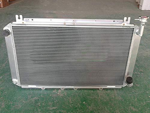 Radiador de aluminio de 3 filas para Nis-san Patrol Safari GQ For-d Maverick DA Y60 TB42S TB42E Gasolina 4.2L 1987-1998 MT