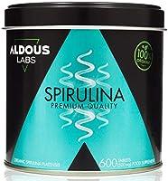 Espirulina Ecológica Premium para 9 Meses | 600 comprimidos de 500mg con 99% BIO Spirulina | Vegano - Saciante - DETOX -...