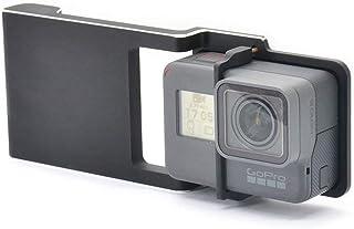 Kourpar Mount Plate Adapter for GoPro Hero 7 6 5 4 3+ Camera Used with DJI Osmo Mobile 2 /Zhiyun Smooth 4 Q/C/C+ / Feiyu S...