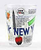 New York Attractions Collage Shot Glass CTM