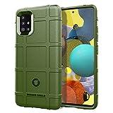 BRAND SET Funda para Samsung Galaxy A31, Cárcasa Silicona Suave Durable TPU Antigolpes Bumper Protector Case Cover para Samsung Galaxy A31-Verde