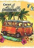 Carnet de covoiturage: Livre de bord - 70 feuilles de route - format 17.78 x 25.4 cm